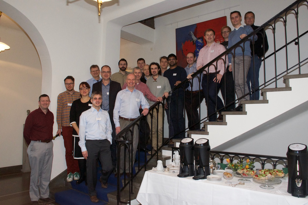 Photograph of the INSIGHT consortium members at the Kick-off meeting in Lund.